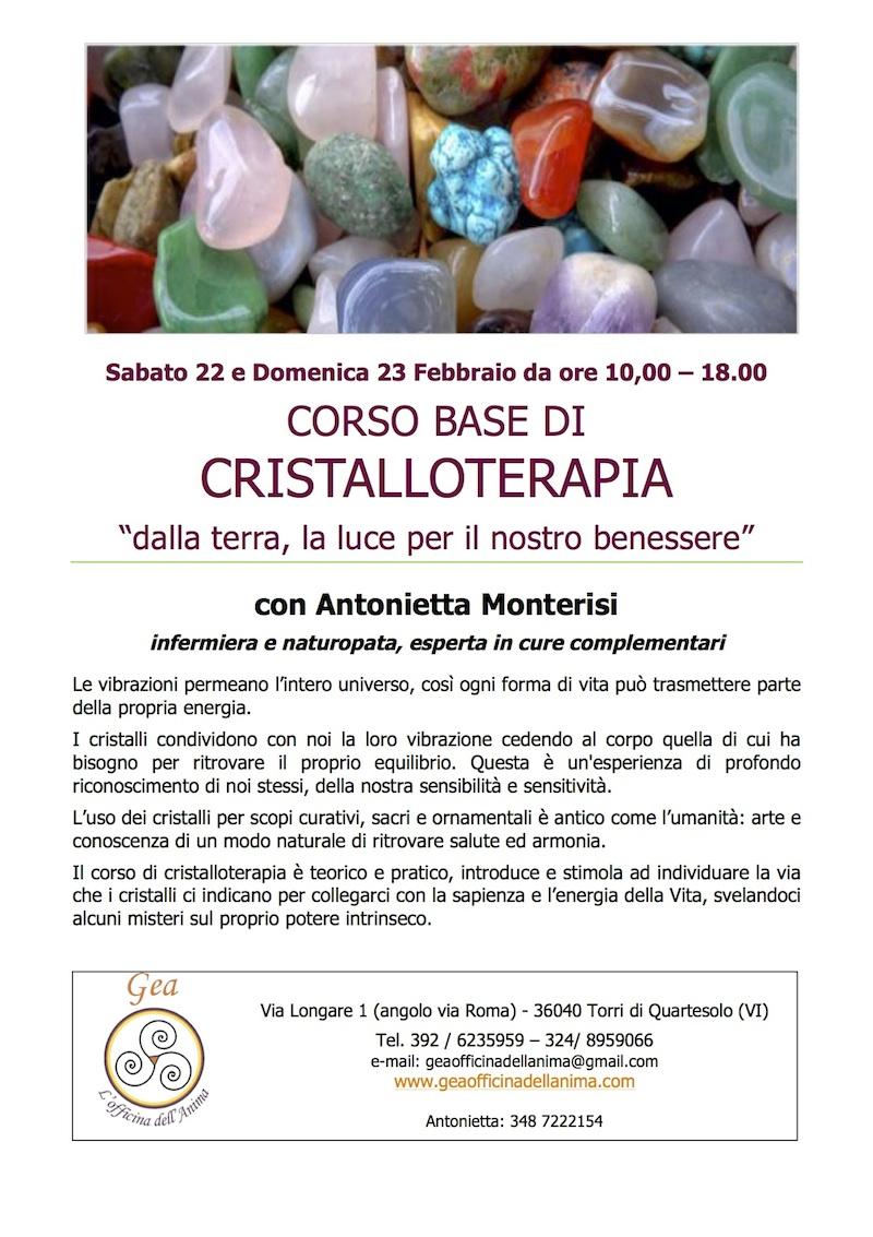 volantino Antonietta Cristalli gea