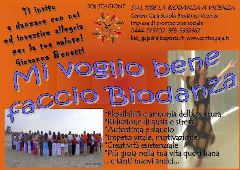 Biodanza Vicenza Gio Ste settembre 2014