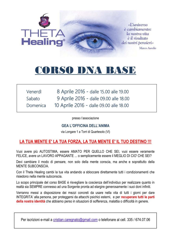 Corso Theta Healing® DNA Base