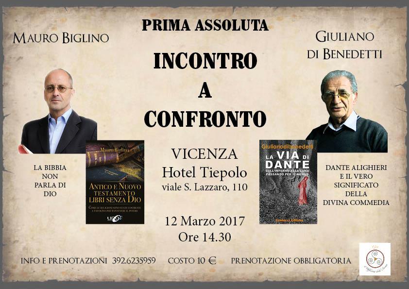 Mauro Biglino e Giuliano de Benedetti